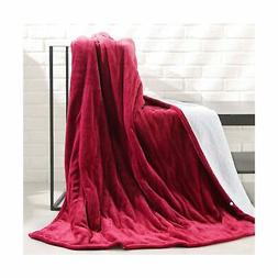 electric heated throw blanket