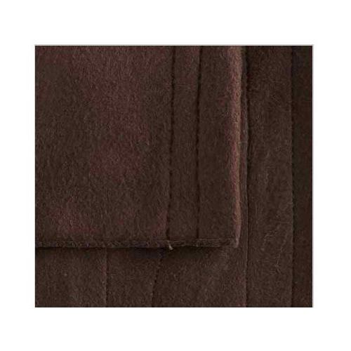 Biddeford 1004-9052106-711 Fleece Electric Heated Blanket King Chocolate