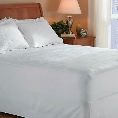 Sunbeam Heated Mattress Pad with 10 Settings, Queen