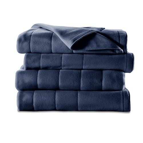 Sunbeam 10 Heat Settings, Quilted Fleece, Newport Queen